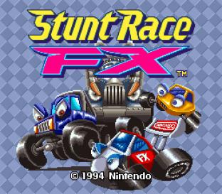Stunt Race FX SNES 001