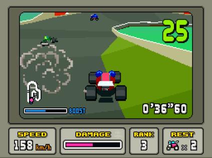 Stunt Race FX SNES 009