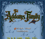 The Addams Family SNES 02