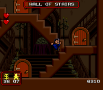 The Addams Family SNES 16