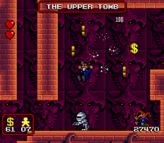 The Addams Family SNES 33