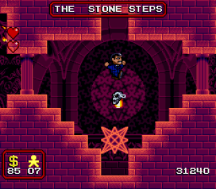 The Addams Family SNES 42
