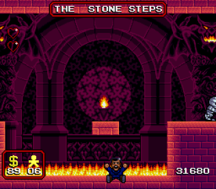 The Addams Family SNES 43