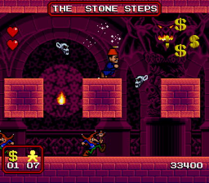 The Addams Family SNES 45
