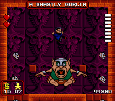 The Addams Family SNES 54