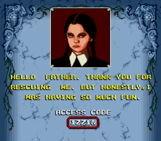 The Addams Family SNES 55