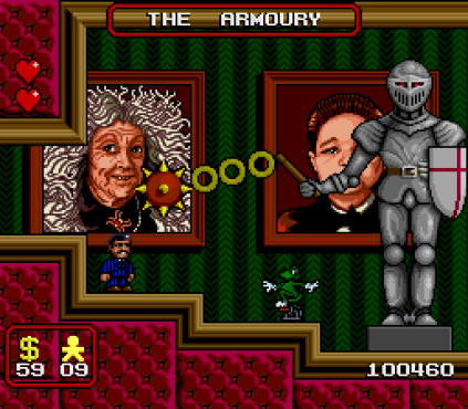 The Addams Family SNES 64