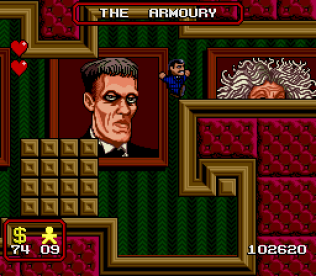 The Addams Family SNES 66