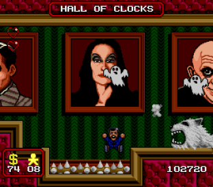 The Addams Family SNES 67