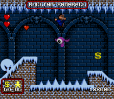 The Addams Family SNES 77