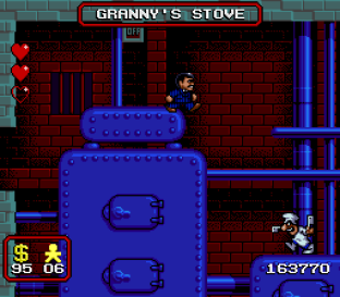 The Addams Family SNES 86