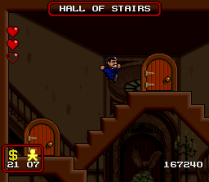 The Addams Family SNES 96