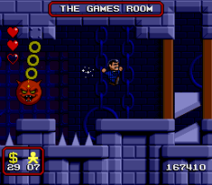 The Addams Family SNES 98