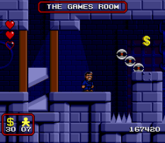 The Addams Family SNES 99
