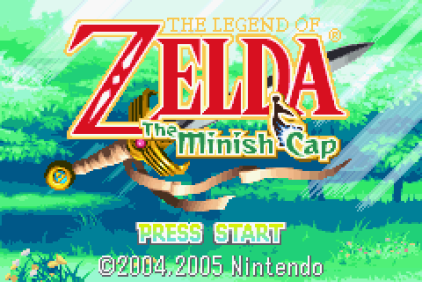 The Legend of Zelda - The Minish Cap GBA 001