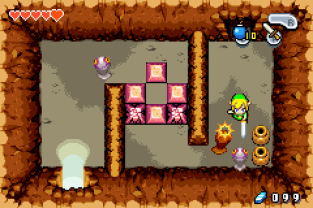 The Legend of Zelda - The Minish Cap GBA 089