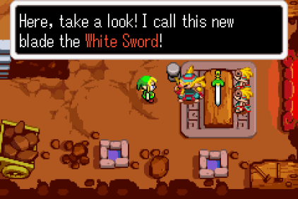 The Legend of Zelda - The Minish Cap GBA 122