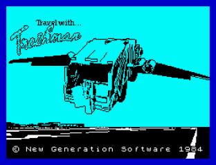 Travel With Trashman ZX Spectrum 01
