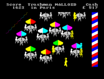 Travel With Trashman ZX Spectrum 07
