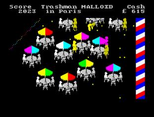 Travel With Trashman ZX Spectrum 09