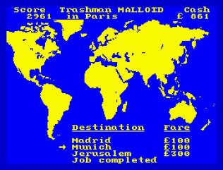 Travel With Trashman ZX Spectrum 11