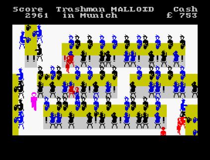 Travel With Trashman ZX Spectrum 12