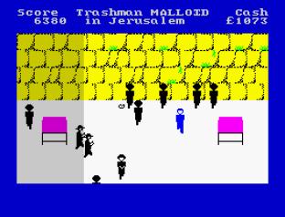 Travel With Trashman ZX Spectrum 20