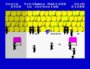 Travel With Trashman ZX Spectrum 22