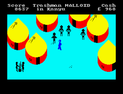 Travel With Trashman ZX Spectrum 23