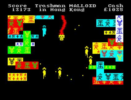 Travel With Trashman ZX Spectrum 31