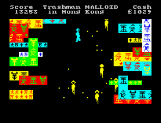 Travel With Trashman ZX Spectrum 32
