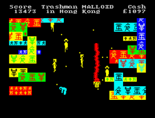 Travel With Trashman ZX Spectrum 33