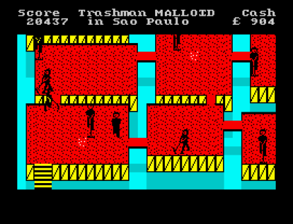 Travel With Trashman ZX Spectrum 42
