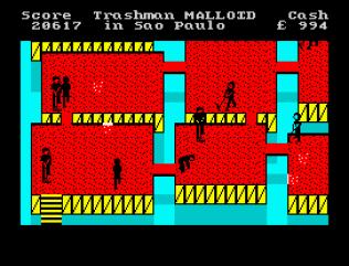 Travel With Trashman ZX Spectrum 43