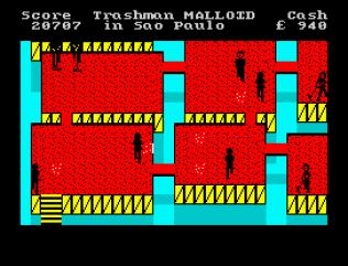Travel With Trashman ZX Spectrum 44
