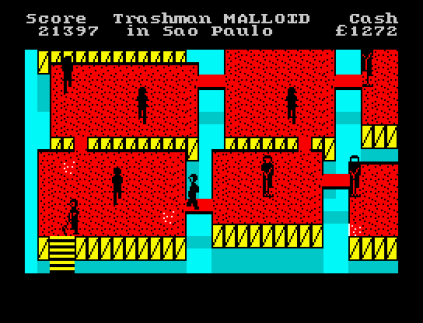 Travel With Trashman ZX Spectrum 45