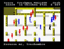 Travel With Trashman ZX Spectrum 47