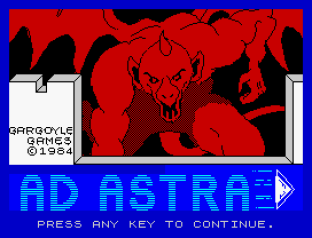 Ad Astra ZX Spectrum 01