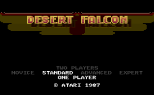 Desert Falcon Atari 7800 01