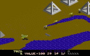 Desert Falcon Atari 7800 16