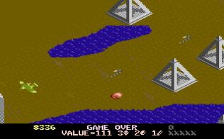 Desert Falcon Atari 7800 24