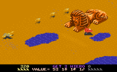 Desert Falcon Atari 7800 33