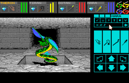 Dungeon Master - Theron's Quest PC Engine 132