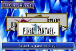 Final Fantasy 1 and 2 - Dawn of Souls GBA 002
