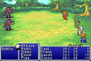 Final Fantasy 1 and 2 - Dawn of Souls GBA 012