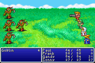 Final Fantasy 1 and 2 - Dawn of Souls GBA 021
