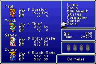 Final Fantasy 1 and 2 - Dawn of Souls GBA 023