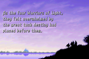 Final Fantasy 1 and 2 - Dawn of Souls GBA 034