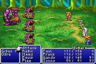 Final Fantasy 1 and 2 - Dawn of Souls GBA 043