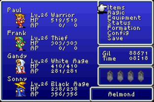 Final Fantasy 1 and 2 - Dawn of Souls GBA 075